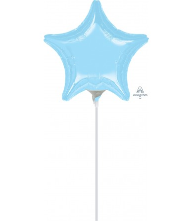 "16366 Pastel Blue Star (9"")"