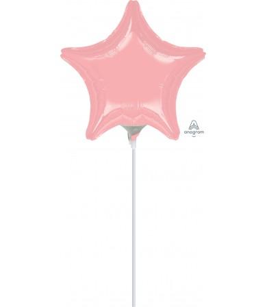 """16470 Pastel Pink Star (9"""")"""