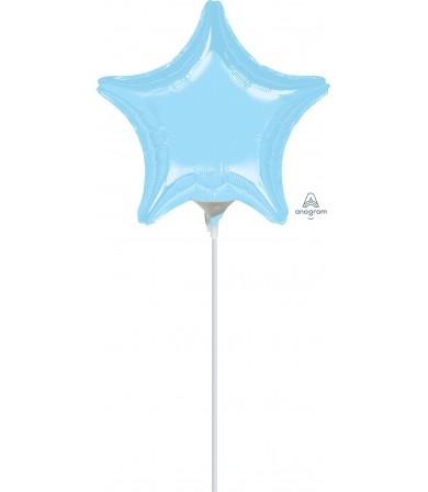 "16365 Pastel Blue Star (4"")"