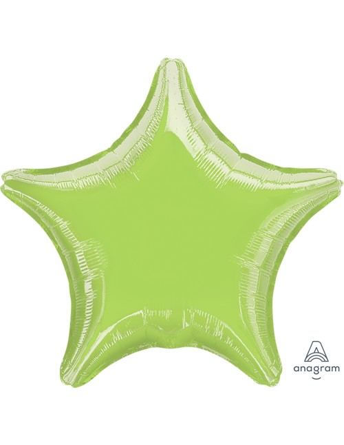 "07128 Metallic Lime Green (19"")"