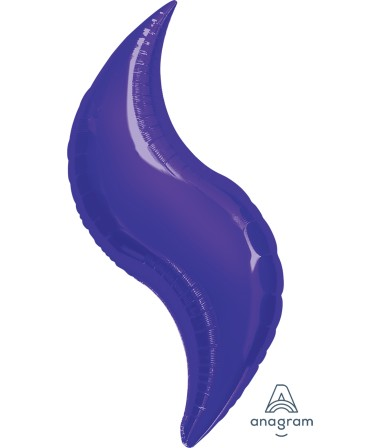 16423 Purple Curve 36""