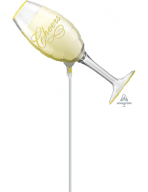 "07719 Champagne Glass (14"")"