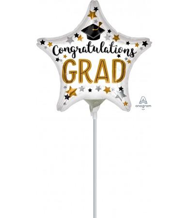"""37234 Congratulations Grad Star (9"""")"""