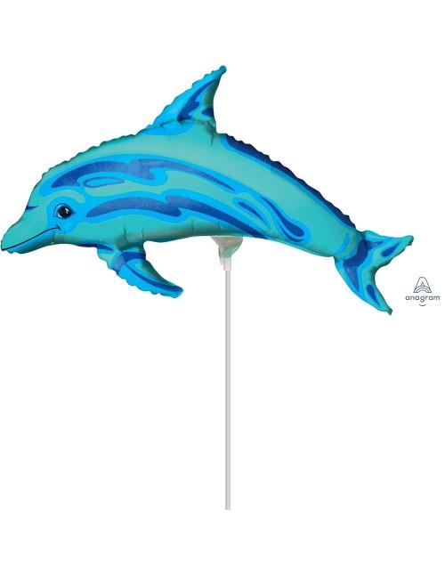 """06069 Ocean Blue Dolphin (14"""")"""