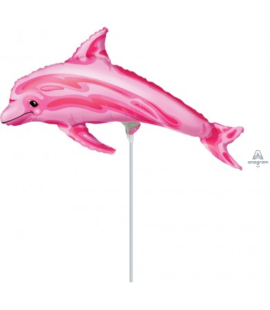 "08434 Pink Dolphin (14"")"