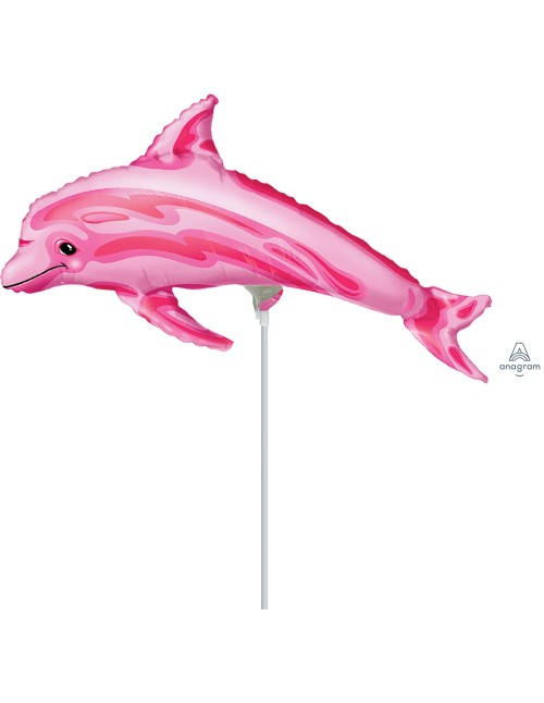 """08434 Pink Dolphin (14"""")"""
