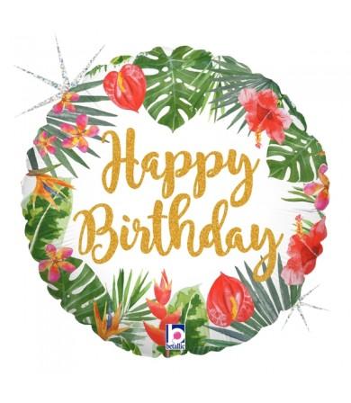"36805P Tropical Birthday (18"")"