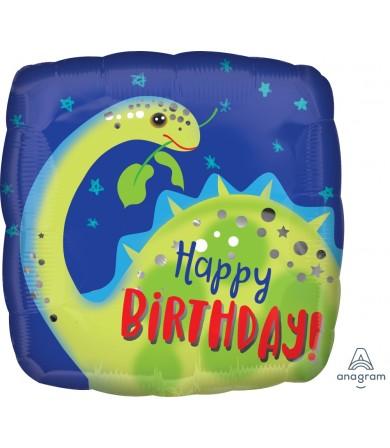 "39627 Brontosaurus Happy Birthday (18"")"