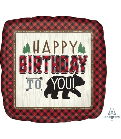 "38638 Little Lumberjack Birthday (18"")"