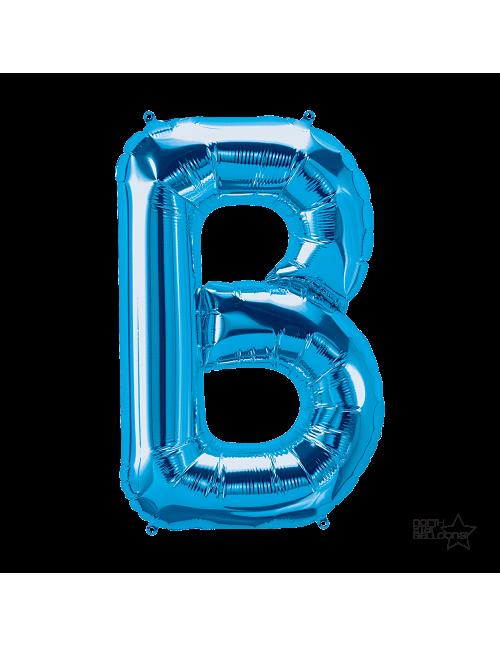 """00275 - 34"""" Letter """"B"""" (Blue)"""