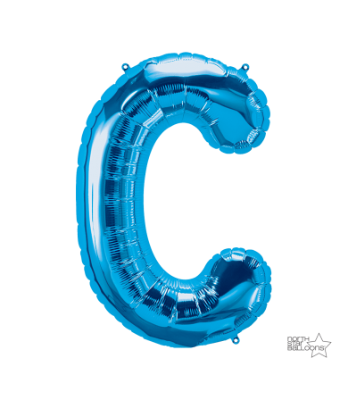 "00276 - 34"" Letter ""C"" (Blue)"