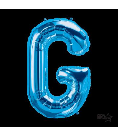 """00280 - 34"""" Letter """"G"""" (Blue)"""