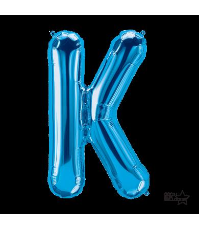 "00284 - 34"" Letter ""K"" (Blue)"