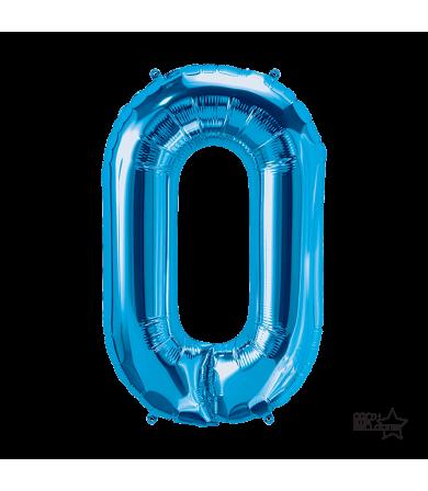 "00288 - 34"" Letter ""O"" (Blue)"