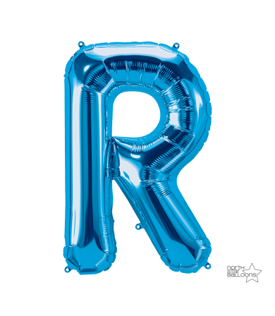 "00291 - 34"" Letter ""R"" (Blue)"