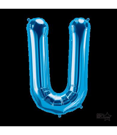 """00294 - 34"""" Letter """"U"""" (Blue)"""