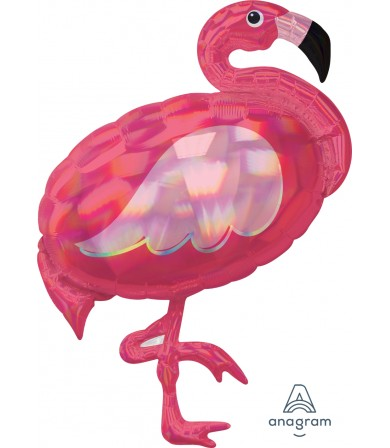 39378 Iridescent Pink Flamingo - SuperShape