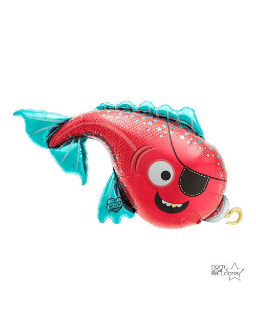 "00637 Pirate Fish (43"")"