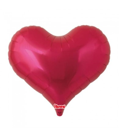 "7501 Jelly Heart - Metallic Red (25"")"