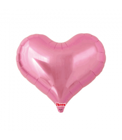 "7502 Jelly Heart - Metallic Pink (25"")"