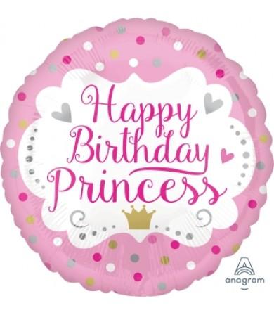 "35664 Happy Birthday Princess (18"")"