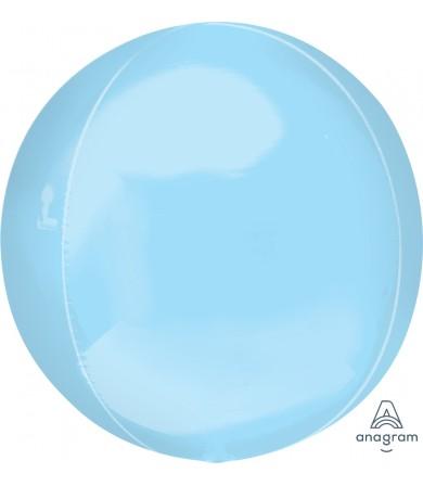 "39111  Pastel Blue Orbz™(16"")"