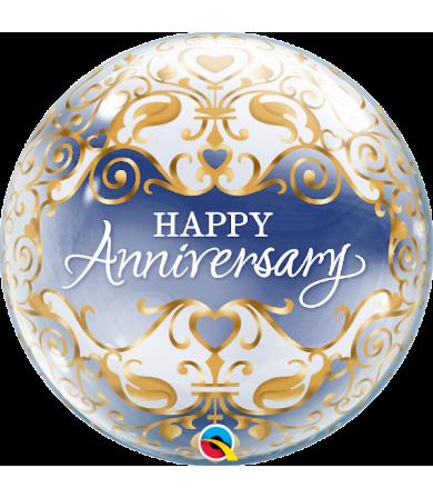 "16660 - Anniversary Classic [Bubbles Balloon] (22"")"
