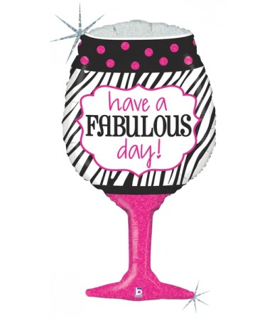 "35273P Fabulous Day Wine (34"")"
