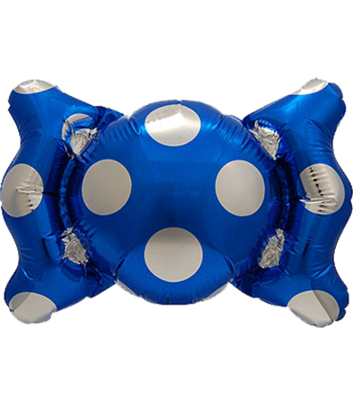"0701- Candy Balloon Blue (6"")"
