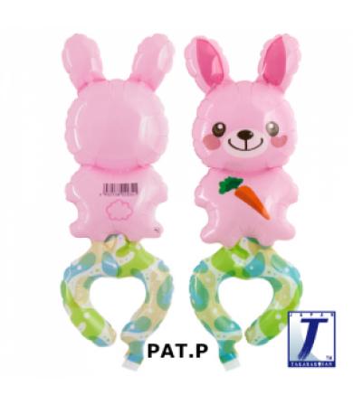 "0007 - WAF Happy Bunny (6"")"