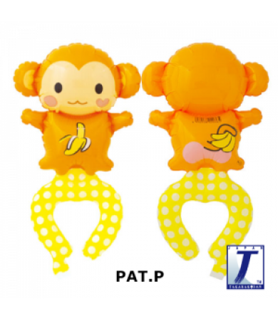 "0009 - WAF Playful Monkey (6"")"