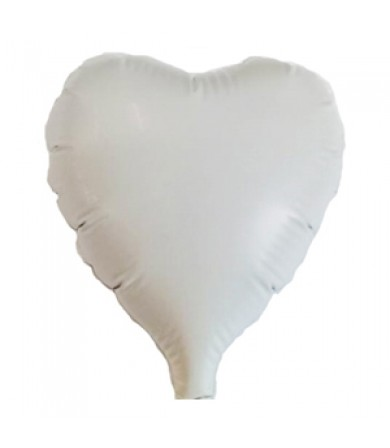 1449 - Heart White 80mm