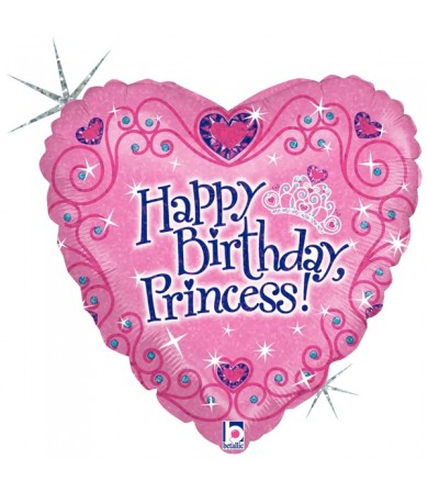 "86589P - Happy Birthday Princess (18"")"