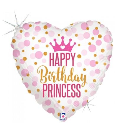 "36700P - Glitter Birthday Princess (18"")"