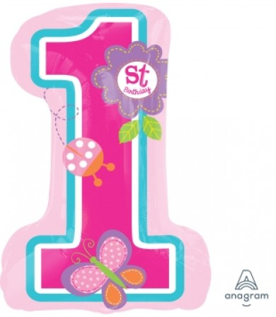 29808 Sweet Birthday Girl - SuperShape