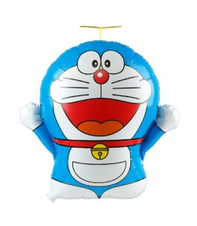 2186 - Doraemon With Takekoputa (46cm)