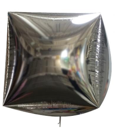 2458 - Cube Foil Silver 80cm