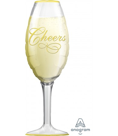 "06195 Champagne Glass (38"")"
