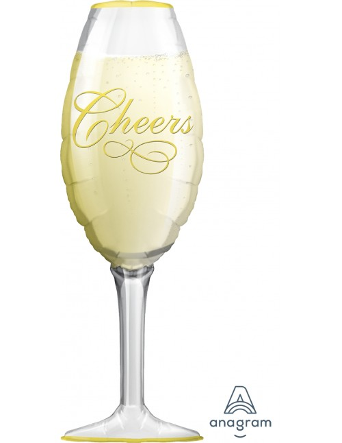 06195 Champagne Glass - SuperShape