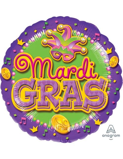 "A118202 Mardi Gras*(18"")"