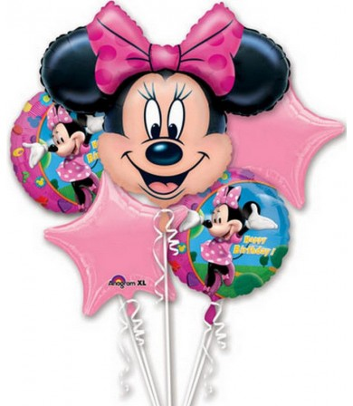 18796 Minnie Mouse Birthday - Bouquet