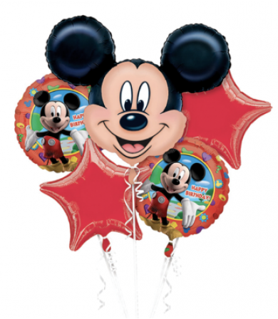18659 Mickey Mouse Birthday - Bouquet