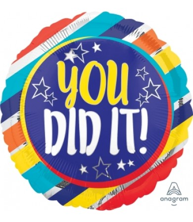 "35178 You Did It Stars (18"")"