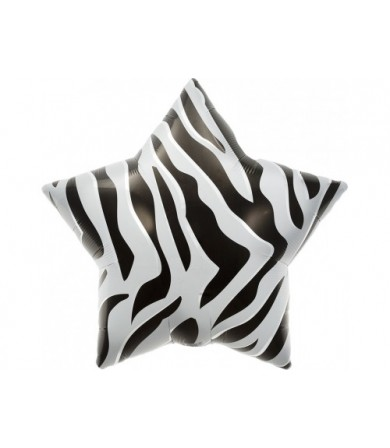 "00762- Zebra Star (22"")"