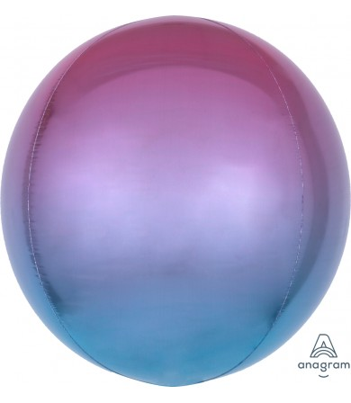 "39852 Ombré Orbz Purple & Blue Orbz™ (16"")"