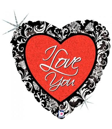"""86719P - Love Damask (18"""")"""