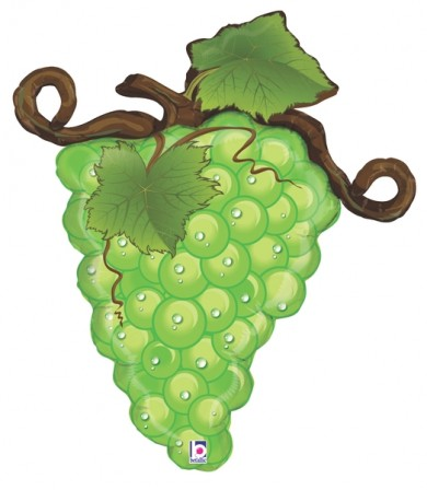 "35375P Linky Grapes - Green (31"")"