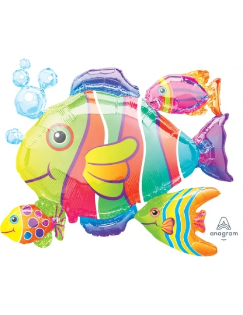 07647 Tropical Fish Cluster - SuperShape