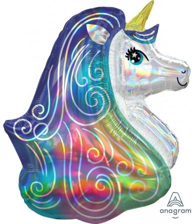 "39379 Iridescent Rainbow Unicorn (30"")"