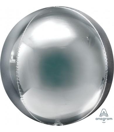 "39101 Orbz™ Jumbo Silver (21"")"